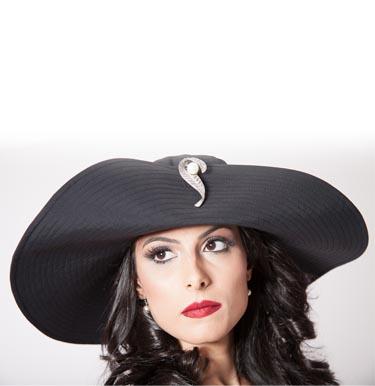 Chapéu Cleopatra - AM Sunwear - Proteção UV com estilo ccdaf131c63