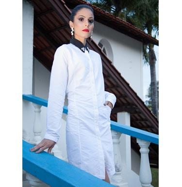 Jaleco Work In Elegance - AM Sunwear - Proteção UV com estilo 717e4e766d4
